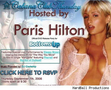Paris Hilton invite