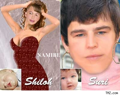 TMZ imagines what Shiloh and Suri Cruise will look like at 21