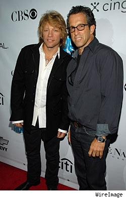 Jon Bon Jovi and Kenneth Cole
