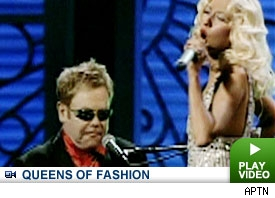 Christina Aguilera & Elton John: Click to watch