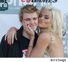 Anna Nicole and Son Daniel