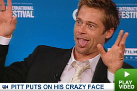 Brad Pitt in Toronto: Click to watch