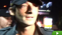 Fans Go Ape for Adrien Brody
