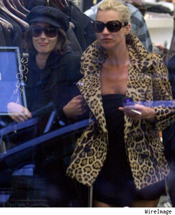 Winona Ryder & Kate Moss