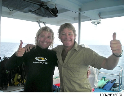 The last photo of Steve Irwin