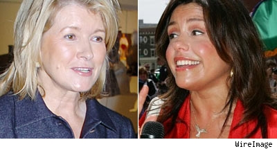 MArtha Stewart and Rachel Ray