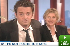 Matthew Perry on Ellen