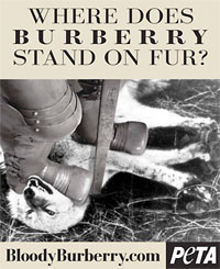 PETA vs Burberry