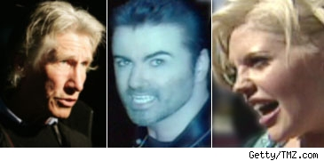 Roger Waters_George Michael_Natalie Maines