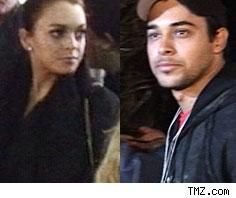 Lindsay Lohan & WIlmer Valderrama