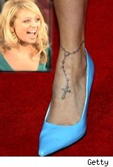 Nicole Richie's tattoo