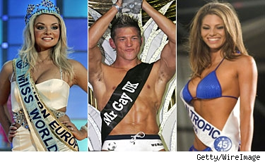 Miss World, Mr. Gay UK & Miss Hawaiian Tropic