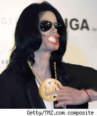 Michael Jackson As Gangsta