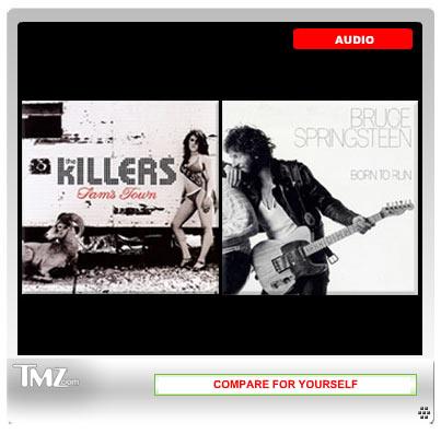 Springsteen/Killers audio