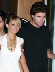 Nicole Richie and Brody Jenner.