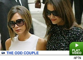 Katie Holmes & Victoria Bechkam: Click to watch
