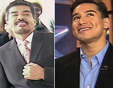 George Lopez and Mario Lopez