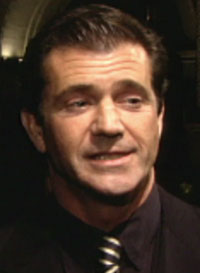 Mel Gibson has not been drinking