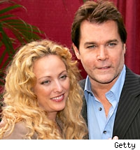 Virgina Madsen and Ray Liotta