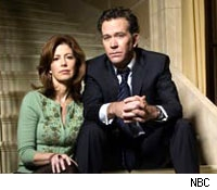 Timothy Hutton and Dana Delany