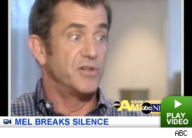Mel Gibson talks to Diane Sawyer