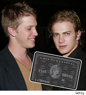 Tove and Hayden Christensen