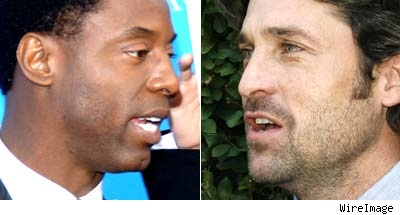 Isaiah Washington and Patrick Dempsey