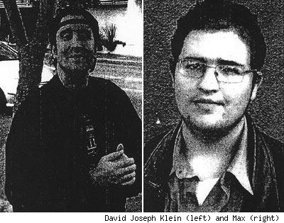 David Joseph Klein and Max