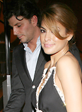 Eva Mendes and George Gargurevich