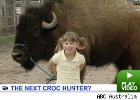 Bindi Irwin: Click to watch