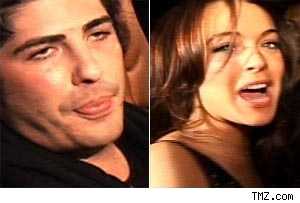 brandon davis and lindsay lohan