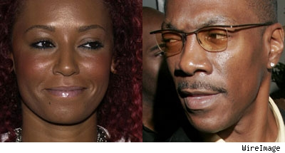 Melanie Brown and Eddie Murphy
