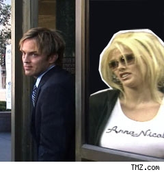 Anna Nicole and Larry Birkhead