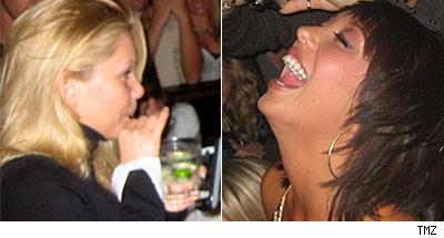 Shanna and Cheryl celebrate