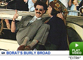 Borat Premiere: Click to watch