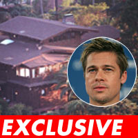 E! cres allegedly trespasses at Brad's house