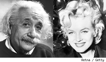 Albert Einstein / Marilyn Monroe