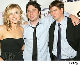 Sarah Chalke, Zach Braff, Bill Lawrence