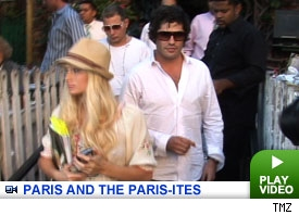 Paris Hilton, Scott Storch, Brandon Davis