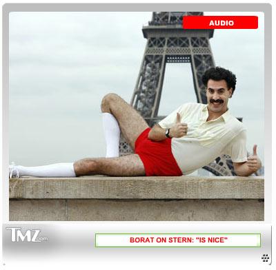 Borat video