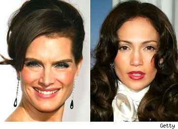 Brooke Shields / Jennifer Lopez