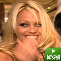 Pamela Anderson: click to launch
