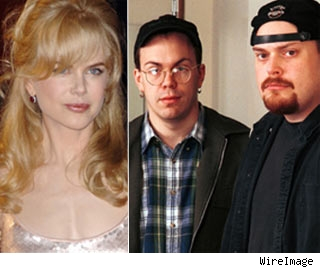 Nicole Kidman and Andy Wachowki and Larry Wachowski