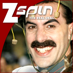 Borat is in the ZSpin
