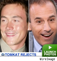 Chris Klein and Matt Lauer