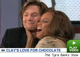Clay and Tyra: click to watch
