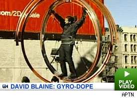 David Blaine: Click to watch