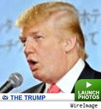 Donald Trump: click to launch