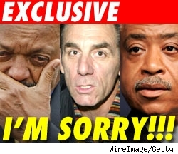 Jesse Jackson, Michael Richards, Al Sharpton