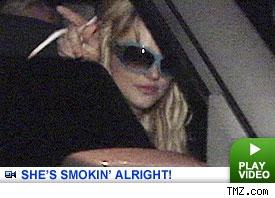 Britney is Smokin'!